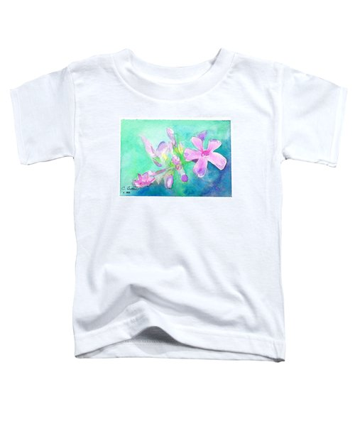Tropical Flowers Toddler T-Shirt