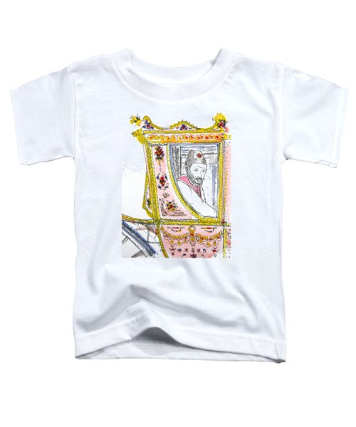 Tsar In Carriage Toddler T-Shirt