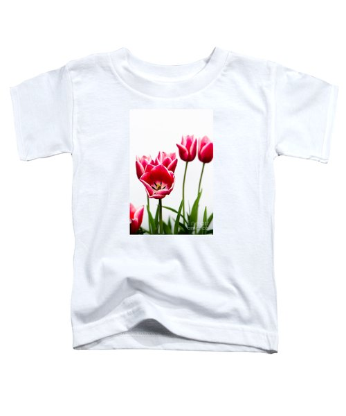 Tulips Say Hello Toddler T-Shirt
