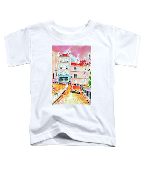 Twilight Montmartre Toddler T-Shirt