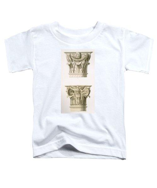 Two Column Capitals Toddler T-Shirt