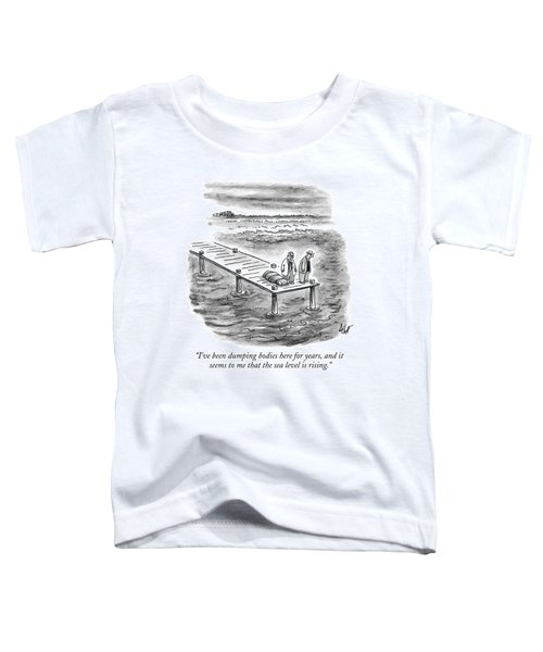 Two Gangsters With A Body In A Tarpaulin Stand Toddler T-Shirt