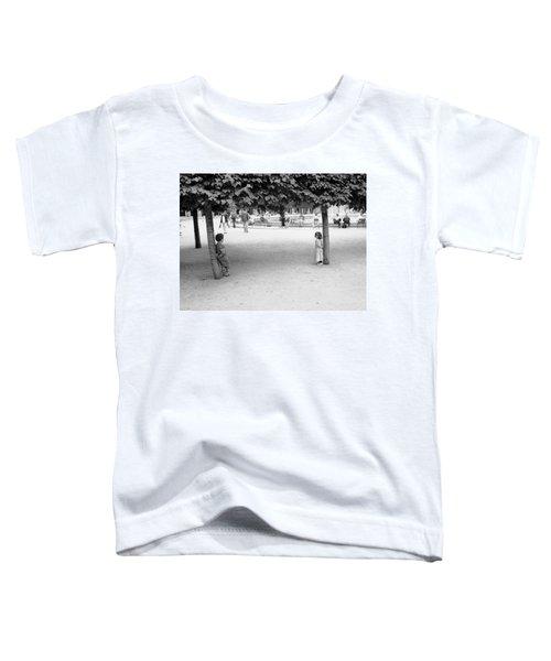 Two Kids In Paris Toddler T-Shirt
