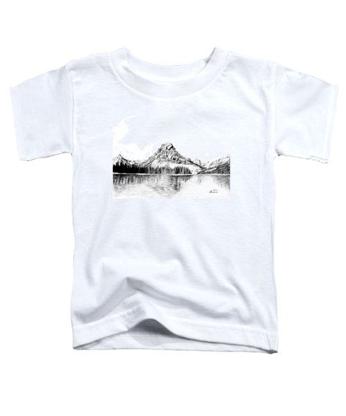 Two Medicine Mountain Toddler T-Shirt