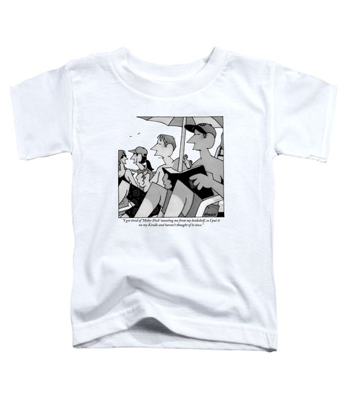 Two Men At The Beach Toddler T-Shirt