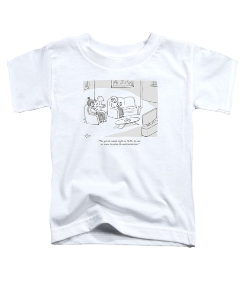 Two Old Women On A Quiet Night Toddler T-Shirt