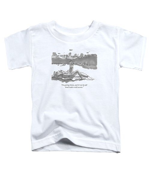Two Women Sun Bathe In Central Park Toddler T-Shirt