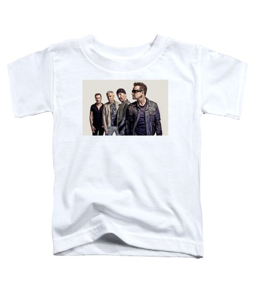 U2 Goup Toddler T-Shirt
