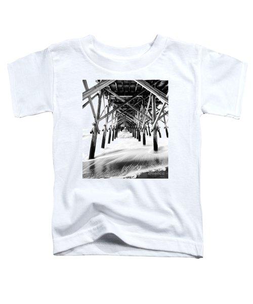 Under The Pier Folly Beach Toddler T-Shirt
