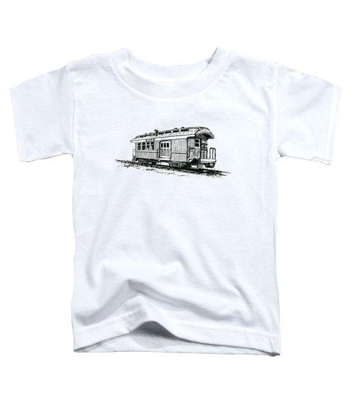 Union Pacific Combine Car Toddler T-Shirt