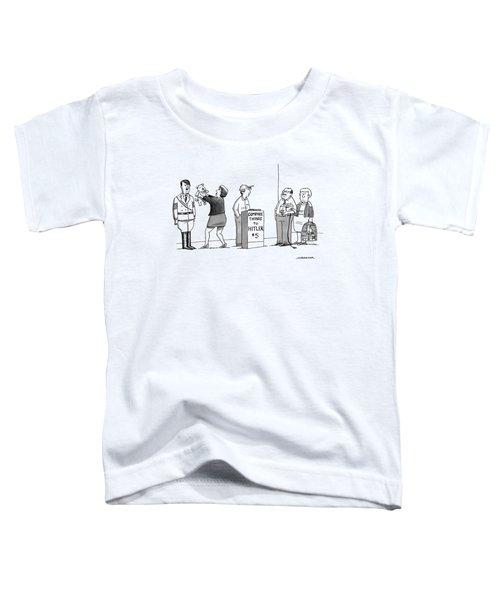 New Yorker September 5th, 2016 Toddler T-Shirt