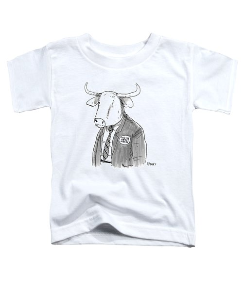 New Yorker October 24th, 2016 Toddler T-Shirt