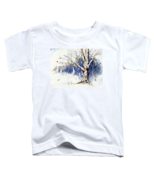 Untitled Winter Tree Toddler T-Shirt