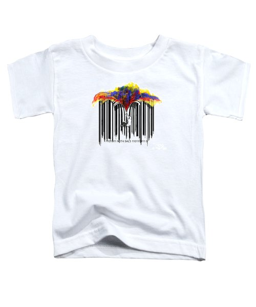 Unzip The Colour Code Toddler T-Shirt