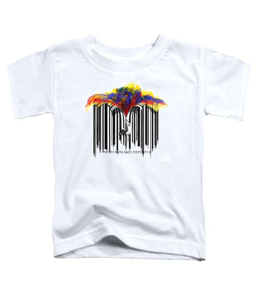 Unzip The Colour Code Toddler T-Shirt