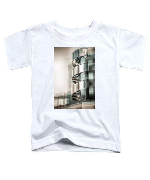 Urban Drill - Cyan Toddler T-Shirt