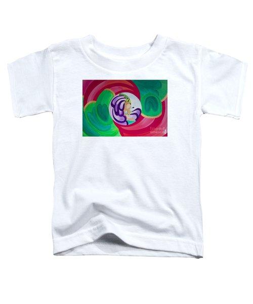 Victoria Peacock Toddler T-Shirt