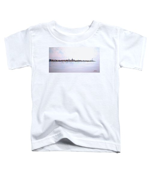 View From The Hudson Toddler T-Shirt