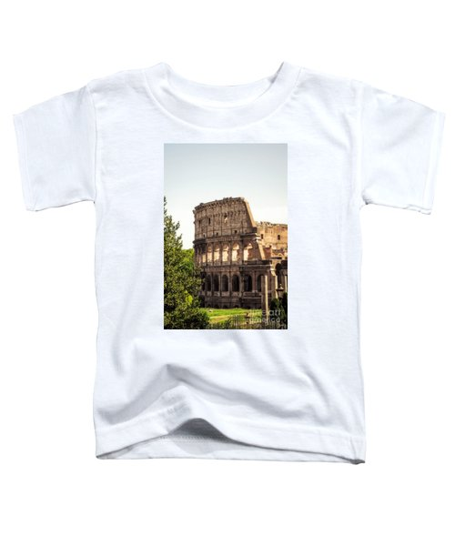 View Of Colosseum Toddler T-Shirt
