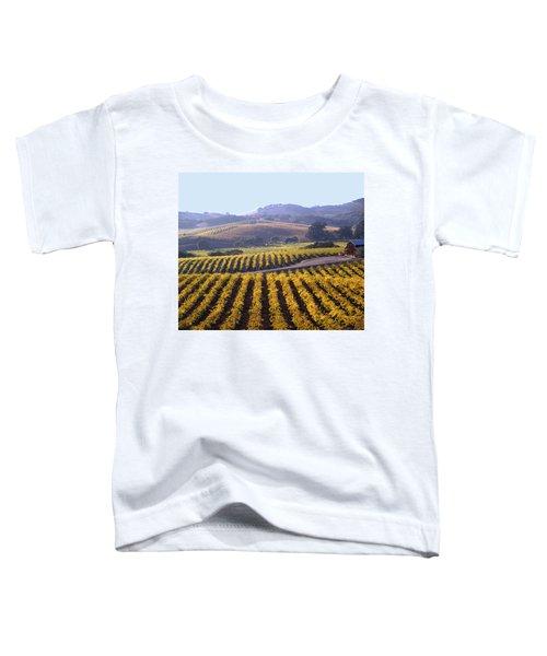 6b6386-vineyard In Autumn Toddler T-Shirt