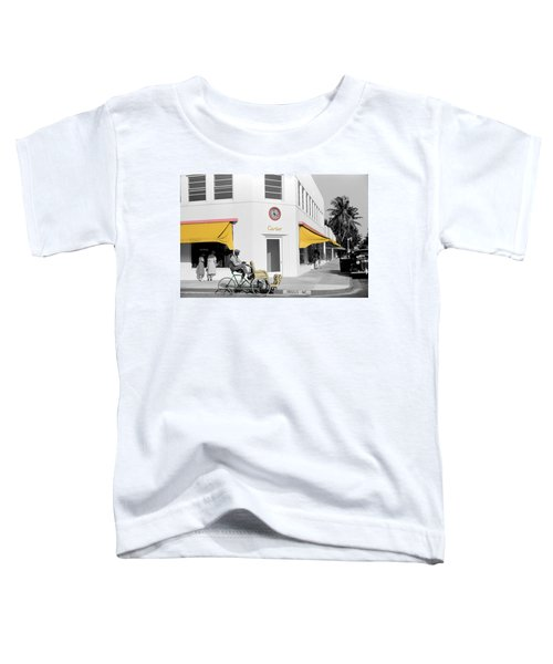 Vintage Cartier Store Toddler T-Shirt
