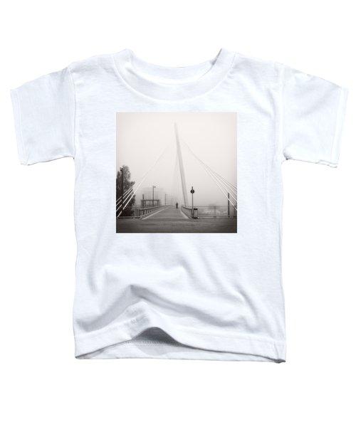 Walking Through The Mist Toddler T-Shirt