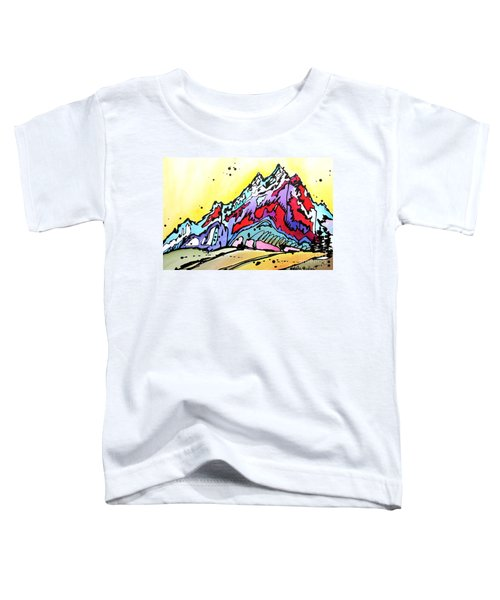 Waning Seasons In The Tetons Toddler T-Shirt
