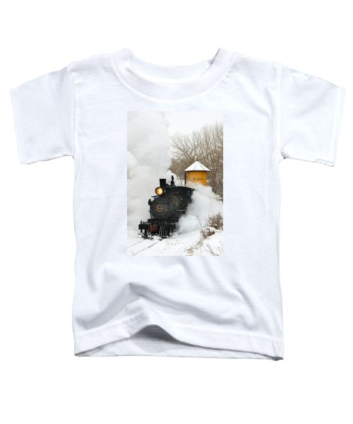 Water Tower Behind The Steam Toddler T-Shirt