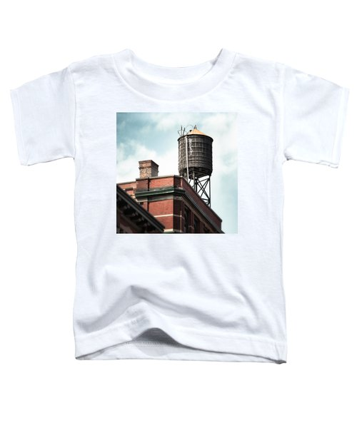 Water Tower In New York City - New York Water Tower 13 Toddler T-Shirt