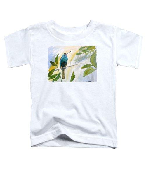 Watercolor - Jacamar In The Rainforest Toddler T-Shirt