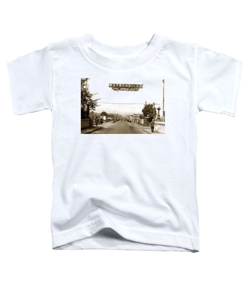 Watsonville California  The Apple City Circa 1926 Toddler T-Shirt