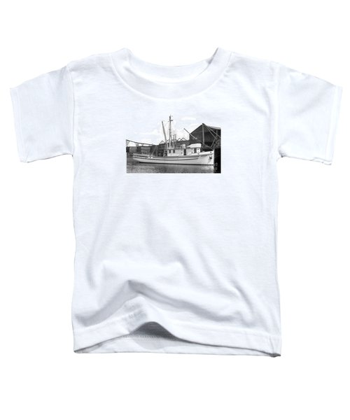 Western Flyer Purse Seiner Tacoma Washington State March 1937 Toddler T-Shirt