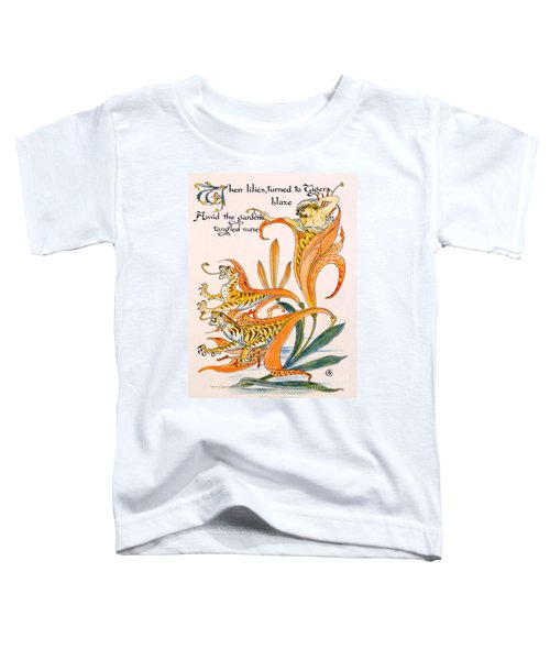 When Lilies Turned To Tiger Blaze Toddler T-Shirt