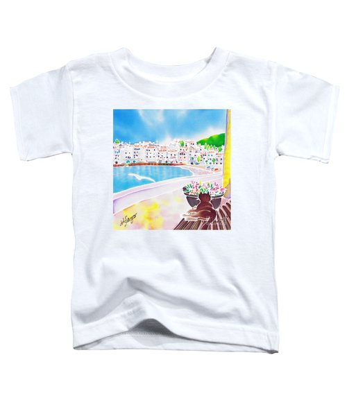 White And Blue 2 Toddler T-Shirt