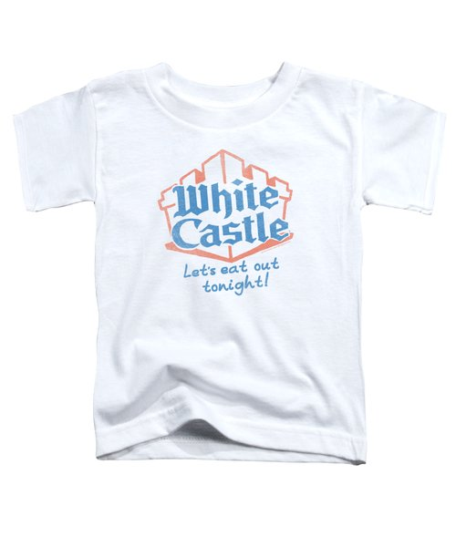 White Castle - Lets Eat Toddler T-Shirt by Brand A