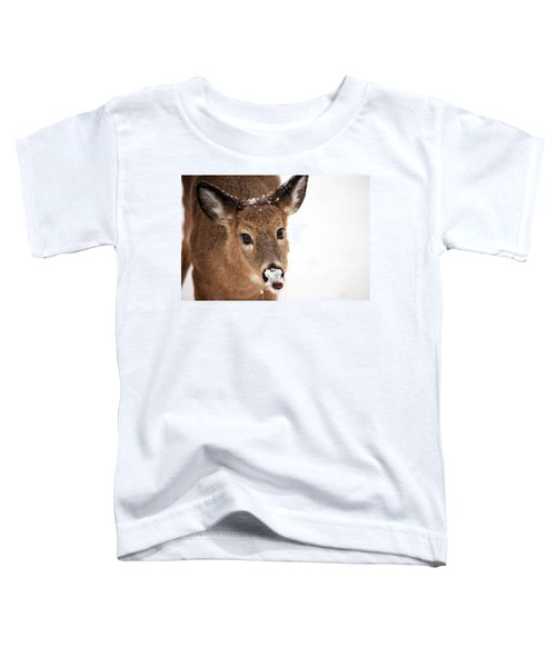 White On The Nose Toddler T-Shirt