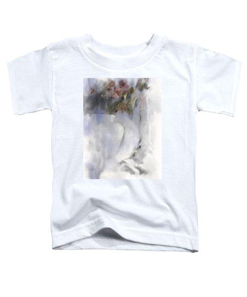 White Still Life Vase And Candlestick Toddler T-Shirt