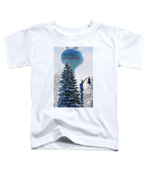 Whitehouse Water Tower  7361 Toddler T-Shirt by Jack Schultz