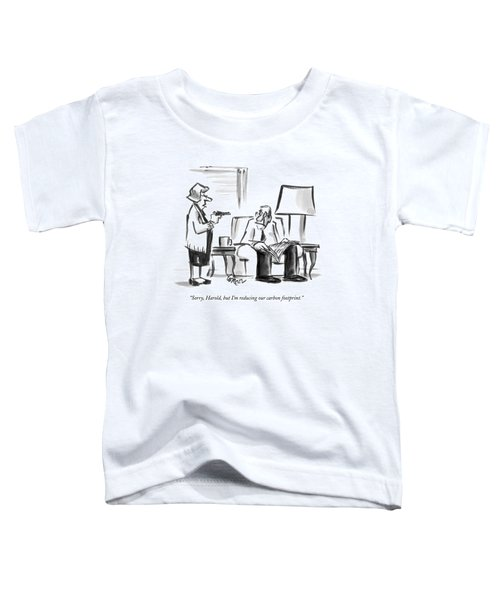 Wife About To Shoot Husband Toddler T-Shirt