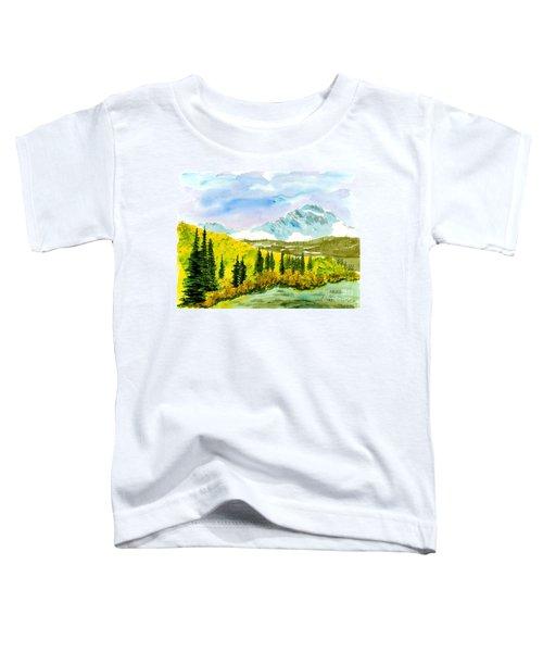 Willard Peak Toddler T-Shirt