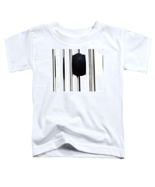 Wind Chime In Black And White Toddler T-Shirt