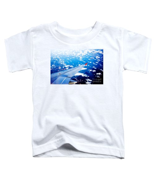 Wings And Clouds Toddler T-Shirt