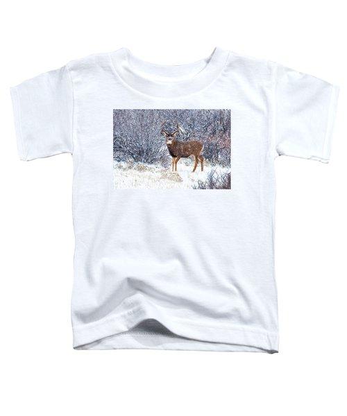 Winter Buck Toddler T-Shirt