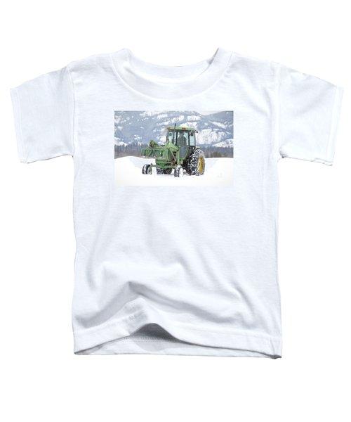 Winter Feeding Toddler T-Shirt