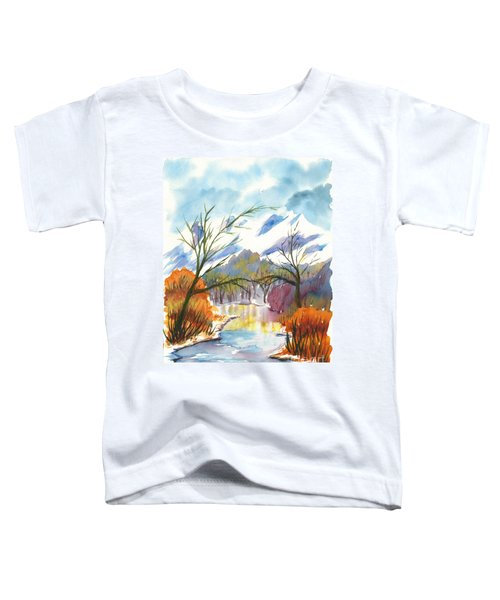 Wintry Reflections Toddler T-Shirt