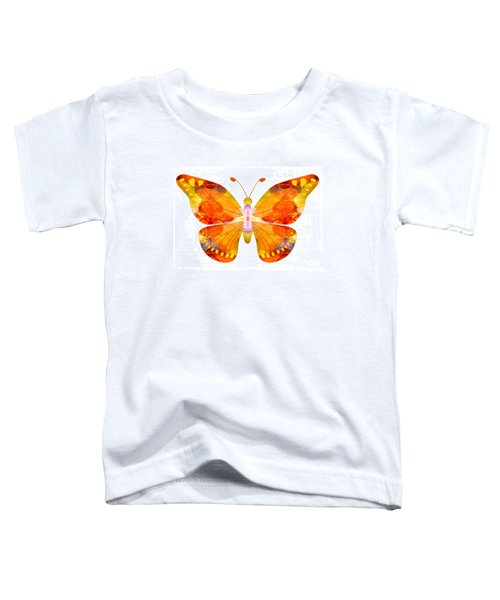 Wisdom And Flight Abstract Butterfly Art By Omaste Witkowski Toddler T-Shirt