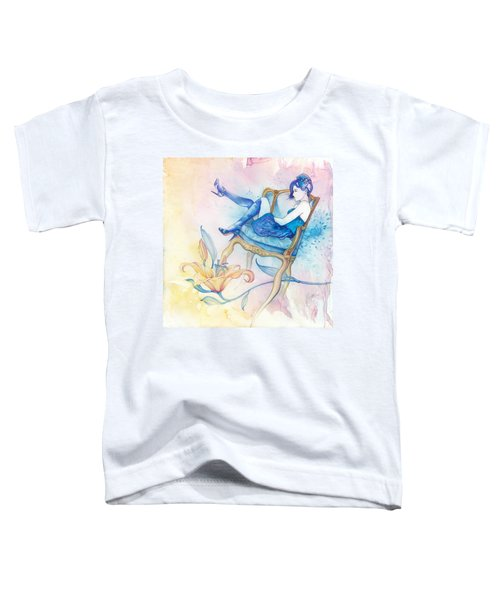 With Head In The Clouds Toddler T-Shirt