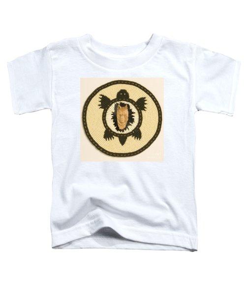 Wolf Turtle Toddler T-Shirt