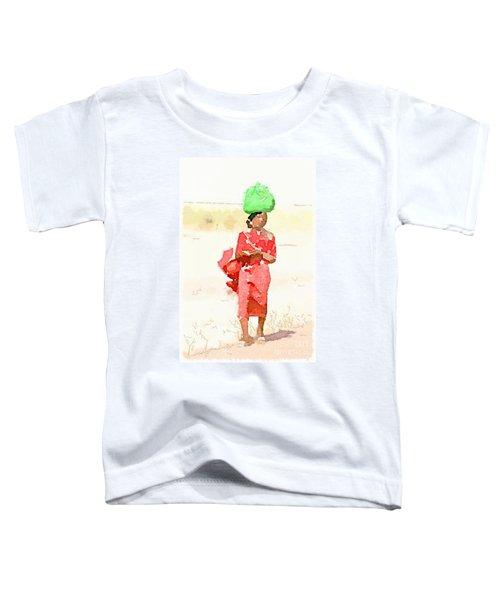Woman Bag Toddler T-Shirt