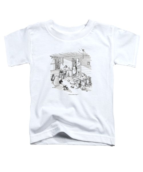 Write About Dogs! Toddler T-Shirt